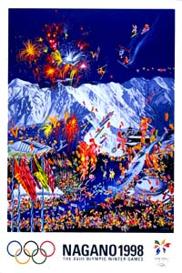 Olympic Winter Games 1998 Poster