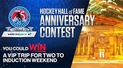 HHOF 75/25 Anniversary Contest
