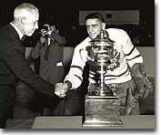 Sid Smith won the Lady Byng twice during his career with the Leafs