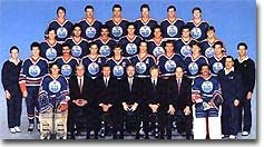 Wayne Gretzky and the Edmonton Oilers were the first-ever winners of the Presidents' Trophy in 1985-86