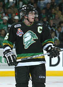 Danny Syvret of the London Knights.