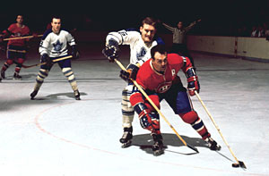 Legendary Henri Richard was part of all four Montreal Canadiens Stanley Cup-winners between 1964 to 1969.