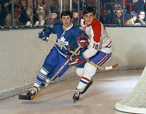 Defender Serge Savard joined the Montreal Canadiens for the 1967-68 season.