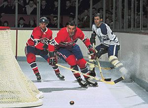 John Ferguson was a physical force for all four of the franchises Stanley Cup wins during a stretch from 1964 to 1969.
