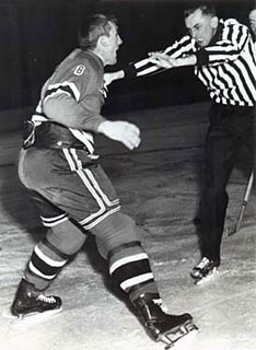 Through twenty-two seasons as a NHL linesman, Neil Armstrong would only miss one game due to injury.