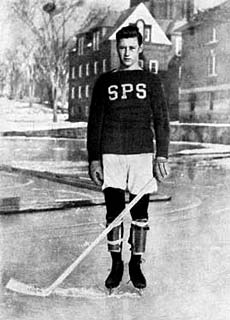 Hobey Baker spent two years at St. Paul's School in Concord, New Hampshire (1908-10)