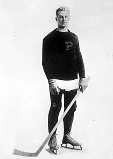 Hobey Baker entered Princeton University in 1910 and led his team to an undefeated season in 1911-12