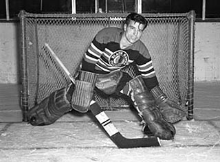 >In September of 1949 the Boston Bruins sold Frank Brimsek to the Chicago Black Hawks.