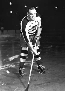 Charlie Conacher played two seasons with the New York Americans before retiring in 1941.