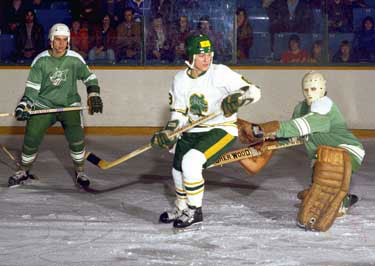 Dino Ciccarelli with the London Knights of the OMJHL