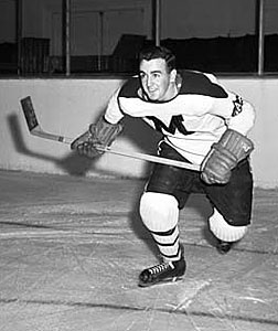 Murray Costello played three seasons with the St. Michael's Majors before signing with the Chicago Black Hawks prior to the 1953-54 season.