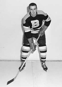 Murray Costello was traded from the Chicago Black Hawks to the Boston Bruins prior to the 1954-55 season.
