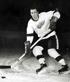 Midway through the 1955-56 season Murray Costello was dealt to the Detroit Red Wings.