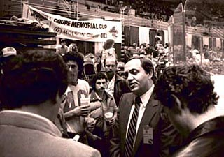 In June 1973, Ed Chynoweth was named president of the Western Hockey League.