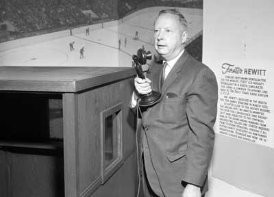 foster hewitt Meet foster hewitt, w a hewitt & family at home - 1956 - cbc hockeygods strives to untie hockey fans from across the globe covering all types of hockey imaginable.