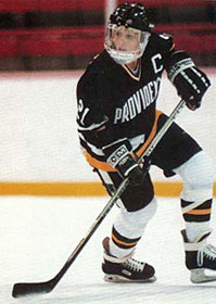 In 1989 Cammi Granato was offered a hockey scholarship at Providence College in Rhode Island.