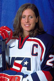In 2007, Cammi Granato was awarded the Lester Patrick Trophy for her contributions to hockey in the United States.