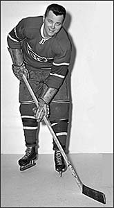 Doug Harvey captured the 1947 Allan Cup with the Montreal Senior Royals