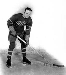 Aurele Joliat was acquired by the Montreal Canadiens when he was traded for the legendary Newsy Lalonde.