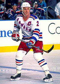 In 1997 the New Yorkd Rangers named Brian Leetch their captain