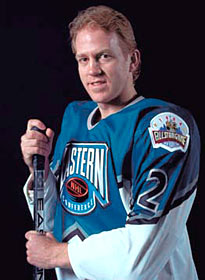 Brian Leetch played in four NHL All-Star Games