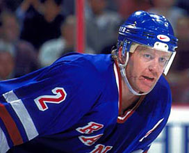 Brian Leetch spent 17 seasons as a member of the New York Rangers before being dealt to the Toronto Maple Leafs in the latter stages of the 2003-04 NHL season.