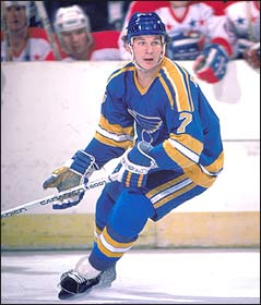 As a St. Louis Blues player