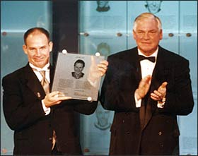 Joe Mullen was Inducted into the Hockey Hall of Fame in 2000