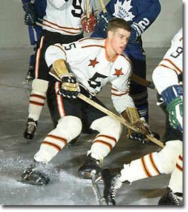 On January 16, 1968, Bobby Orr participating in his first NHL All-Star Game on January 16, 1968.