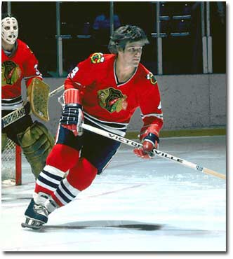 Bobby Orr with the Chicago Blackhawks