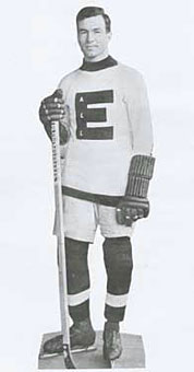 In 1905 Ross made his first appearance for a major hockey organization by scoring 10 goals in eight games for the Westmount franchise in the Canadian Amateur Hockey League.