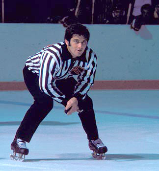 Ray Scapinello was hired as a National Hockey League official for the start of the 1971-72 season.