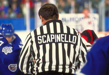 Ray Scapinello went through the course of his entire NHL officiating career never missing a single game to injury or illness.