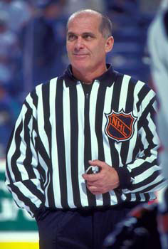 Ray Scapinello was a linesman in three NHL All-Star Games