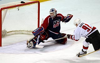 Image result for brodeur vs richter olympics