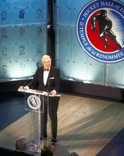 Bill Torrey was inducted into the Hockey Hall of Fame in 1995.