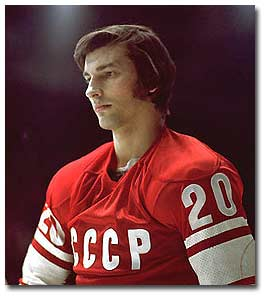 Tretiak backstopped Central Red Army to 13 Soviet League championships in 15 seasons.
