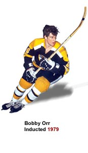 Bobby Orr, Inducted 1979