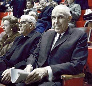 Clarence Campbell oversaw the advent of the NHL's expansion era.  Between 1967 and 1975 the league tripled in size and its popularity was more widespread in North America than in any previous period.