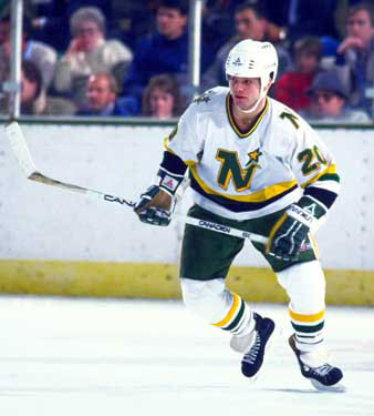 Dino Ciccarelli scored 30+ goals in seven of his nine seasons with the Minnesota North Stars