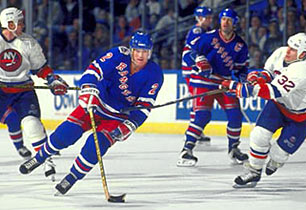 In 1994, Brian Leetch helped the Rangers end a 54-year Stanley Cup drought