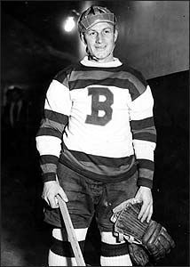 cc656470631 In spite of his image as a curmudgeonly tyrant, Eddie Shore did much to  advance the growth of hockey in Massachusetts, both as a player with the  Bruins ...