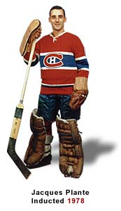 Jacques Plante is in the Spotlight