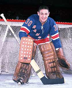 Sawchuk's final season was with the New York Rangers