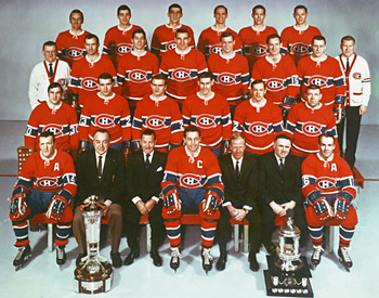 The 1968 Stanley Cup Champion Montreal Canadiens.