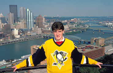 The Pittsburgh Penguins selected Mario Lemieux first overall in the 1984 NHL Entry Draft.