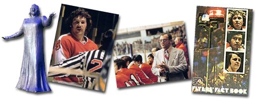Philadelphia Flyers - 1973-74 to 1975-76