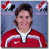 Lori Dupuis is recognized as one of the top female ice hockey players of all-time