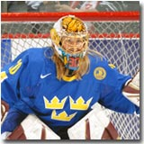 Kim Martin starred for Sweden as a ninth grader at the Salt Lake City Olympics