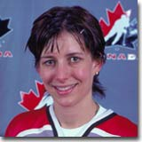 Manon Rheaume was the 1st woman to play with an NHL team